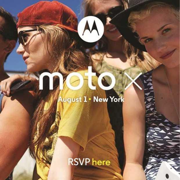 Motorola kondigt 1 augustus de aanpasbare Moto X aan