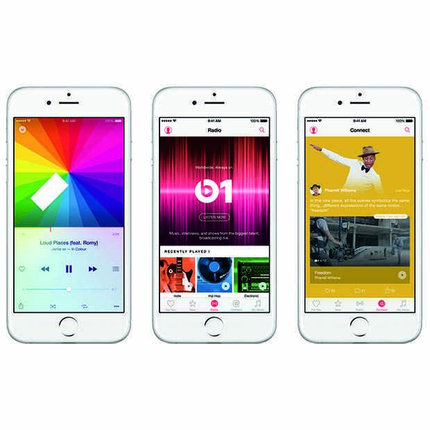 11 miljoen mensen maken gebruik van  'gratis' Apple Music