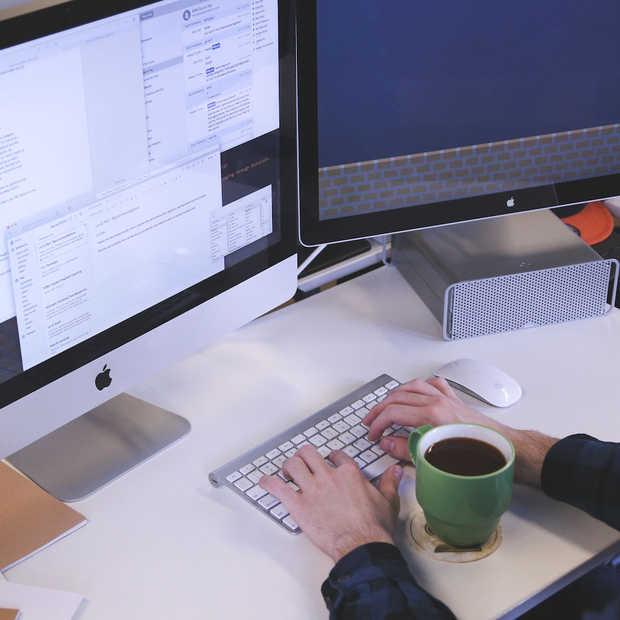 Efficiënt werken met twee computerschermen