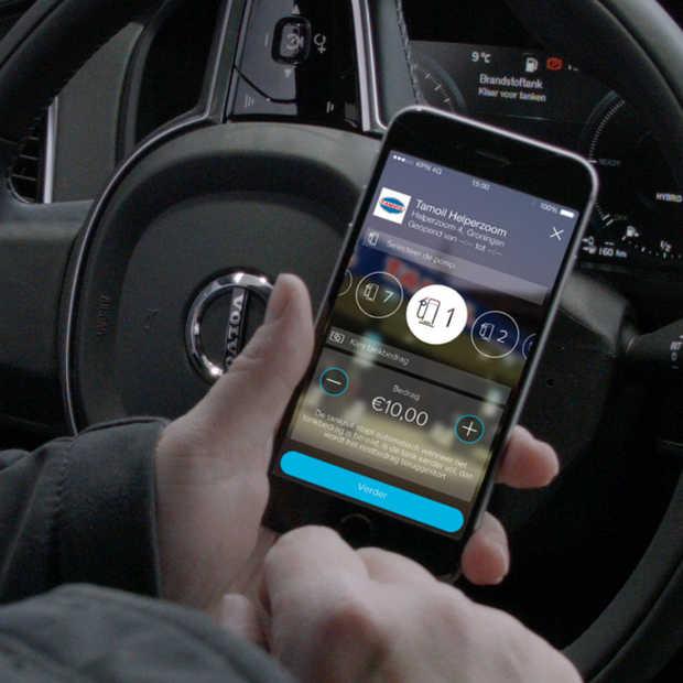 Na het tanken gewoon je brandstof afrekenen vanuit een app