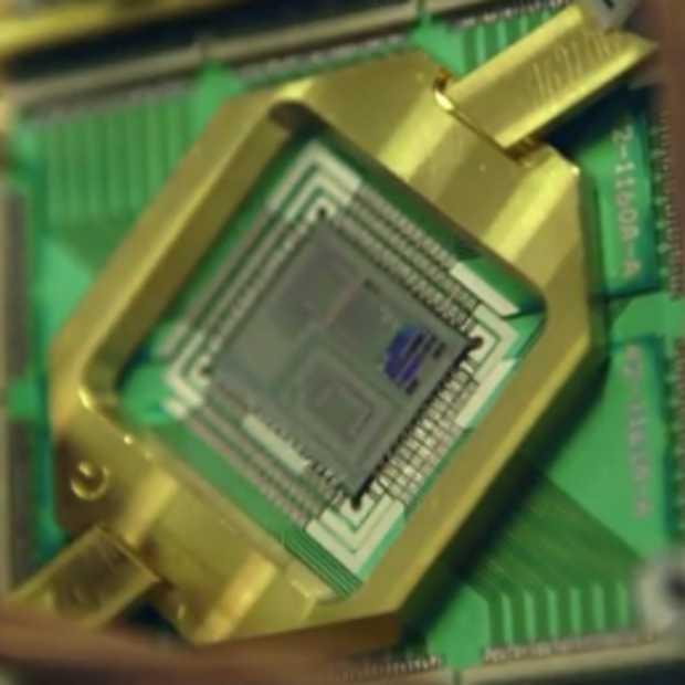 NASA en Google stellen hun super/quantumcomputer voor