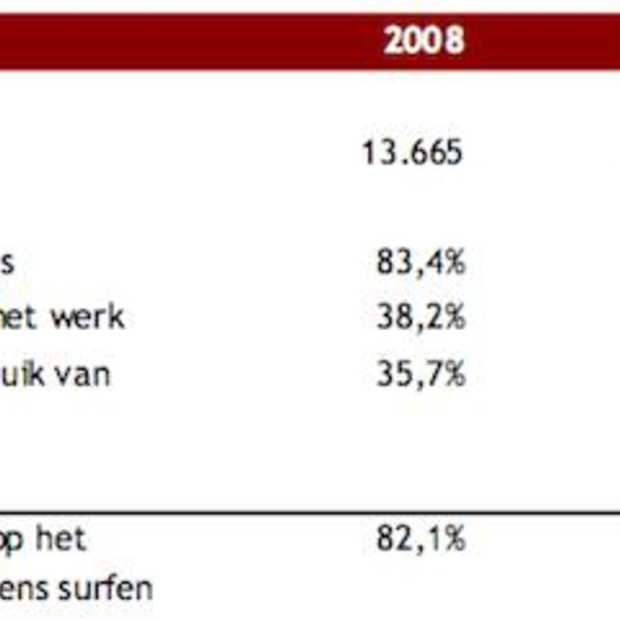 Nederland telt inmiddels 11.4 miljoen surfers