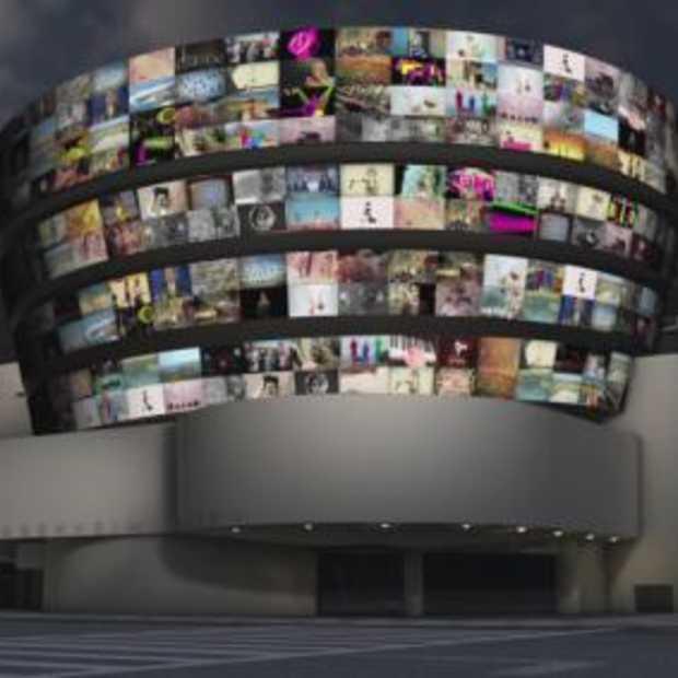 Nederlandse winnaar YouTube Play te zien op gevel Guggenheim museum
