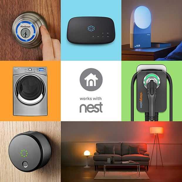 Steeds meer apps en toepassingen van derden werken met Nest