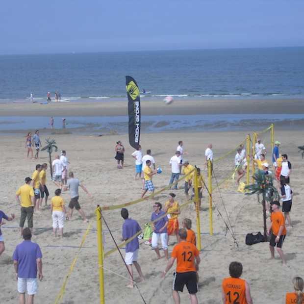 Netwerken on the beach!