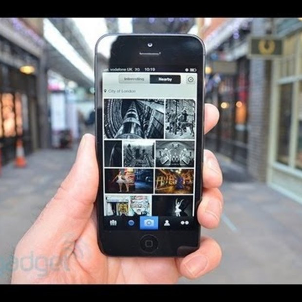 Flickr iOS App - Hands On Review by Engadget