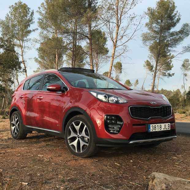 Nieuwe Kia Sportage fraaie en compacte SUV