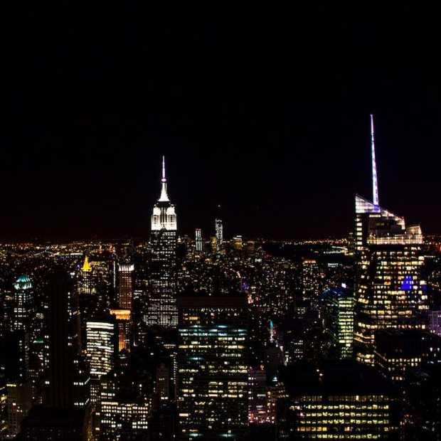 New York City met RC vliegtuigje