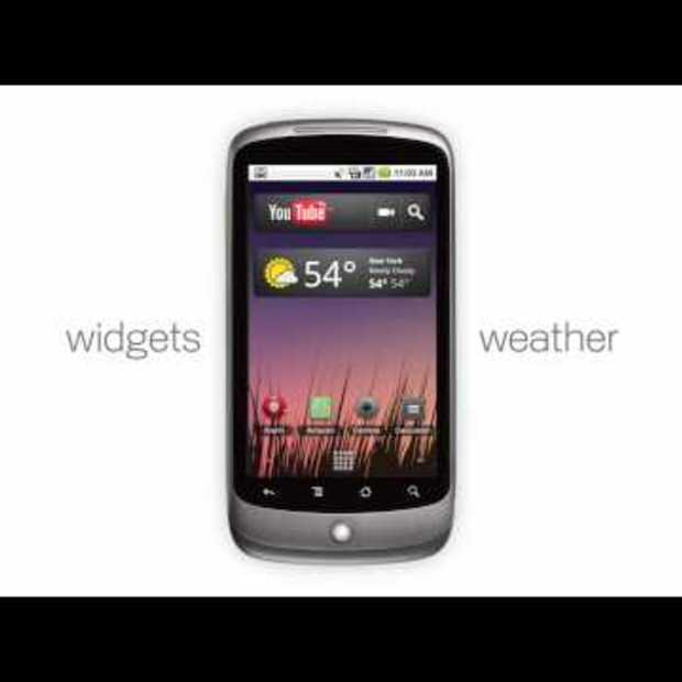 "Nexus One: ""Web meets phone"""