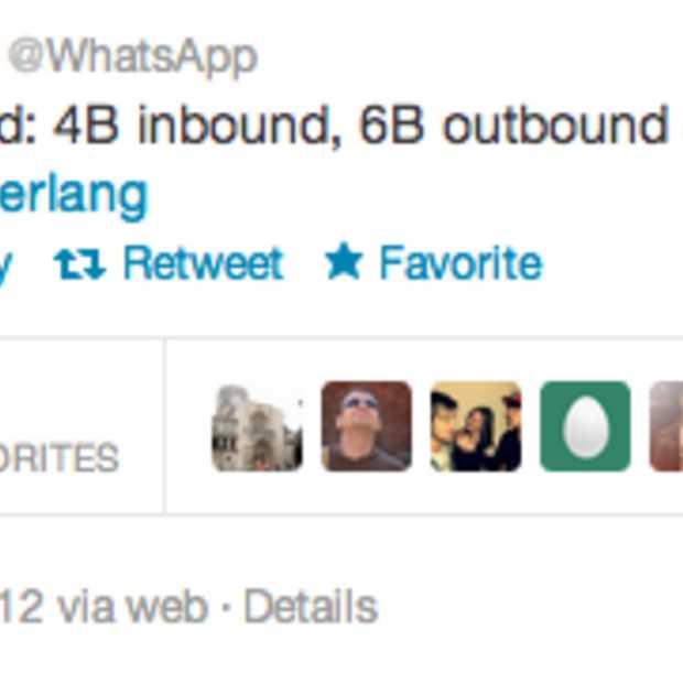 Nieuw record WhatsApp: 10 miljard berichten op 1 dag