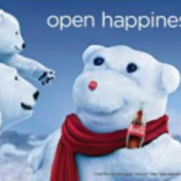 Nieuwe Coca-Cola campagne zet 'legendarische' ijsbeer centraal