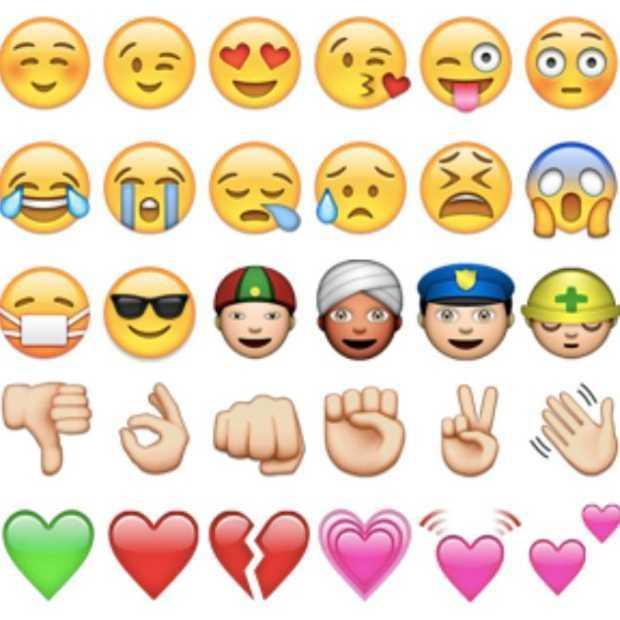 Dit zijn alle 77 nieuwe emoji's!