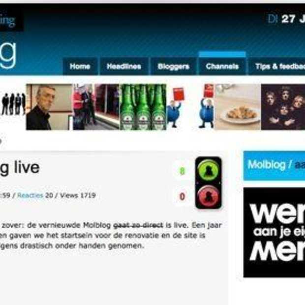 Nieuwe Molblog live