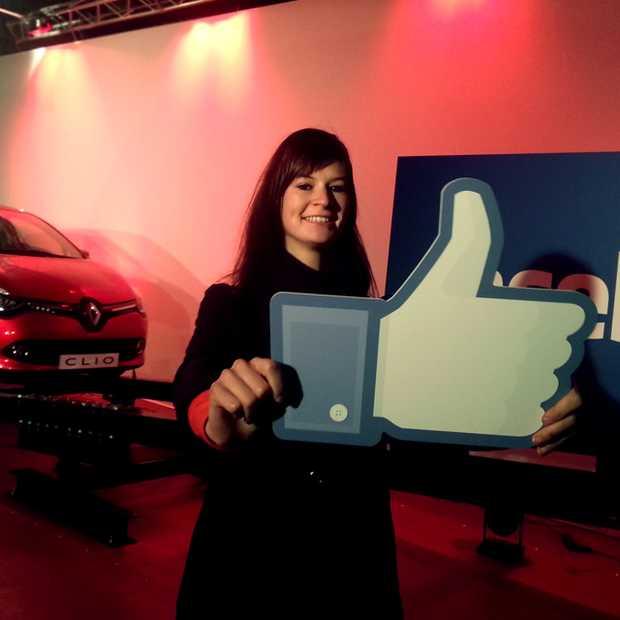 Nieuwe Renault Clio krijgt fysieke likes