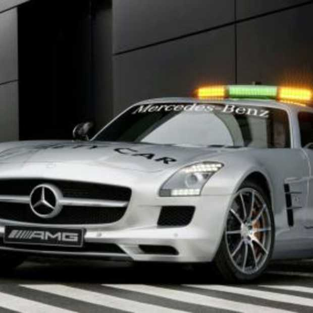 Nieuwe safety car Formule 1