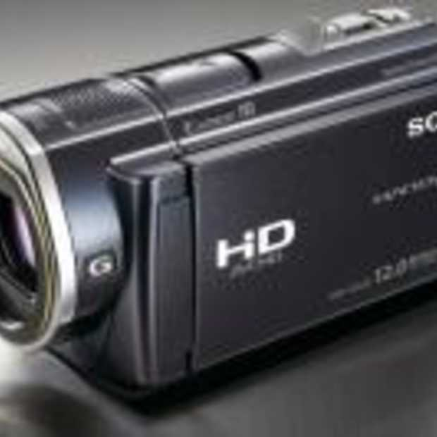 Nieuwe schokvrije Sony Full HD Handycam