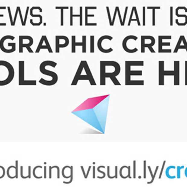 Nieuwe tool Visual.ly: Create your own Infographic