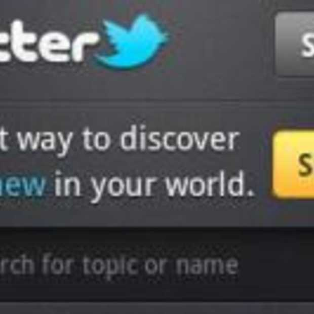Nieuwe Twitter voor Android applicatie