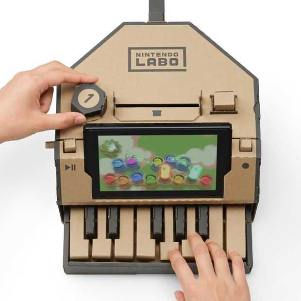 Nintendo Labo: creatief spelen met karton én je Switch