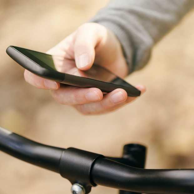 Smartphoneverbod op de fiets: 74 procent is voor