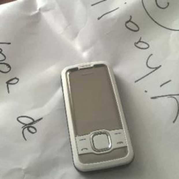 Nokia 7610 Supernova bij de post