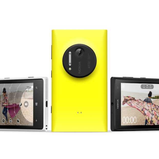 Nokia komt nog deze maand met de Lumia 1020 op de markt
