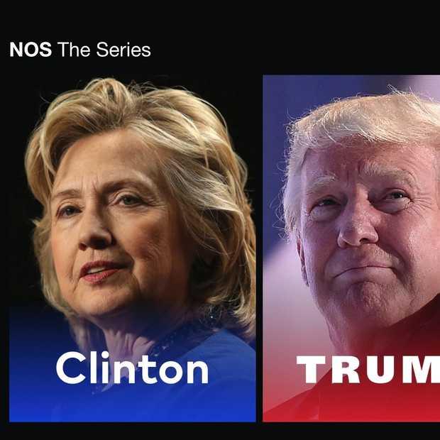 NOS the Series: voor wie niks wil missen van de verkiezingen in de VS