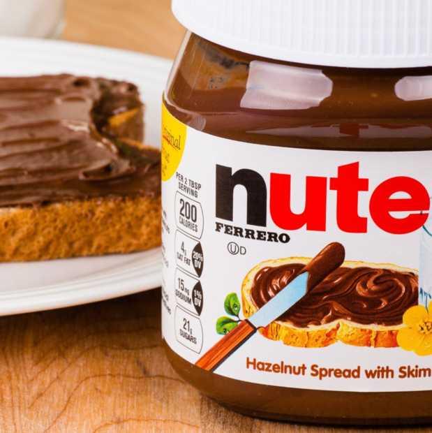 Je schrikt als je weet wat er werkelijk in een pot Nutella zit