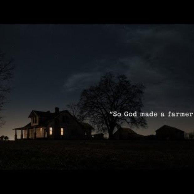 "Winnaar YouTube Ad blitz: Ram Trucks Super Bowl Commercial ""Farmer"""
