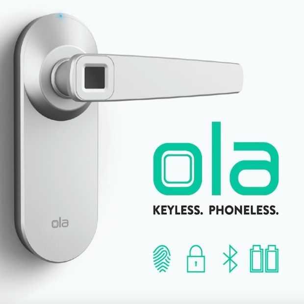 Ola Smart Lock: het slot van de toekomst