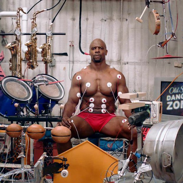 Old Spice Muscle Music, interactive video