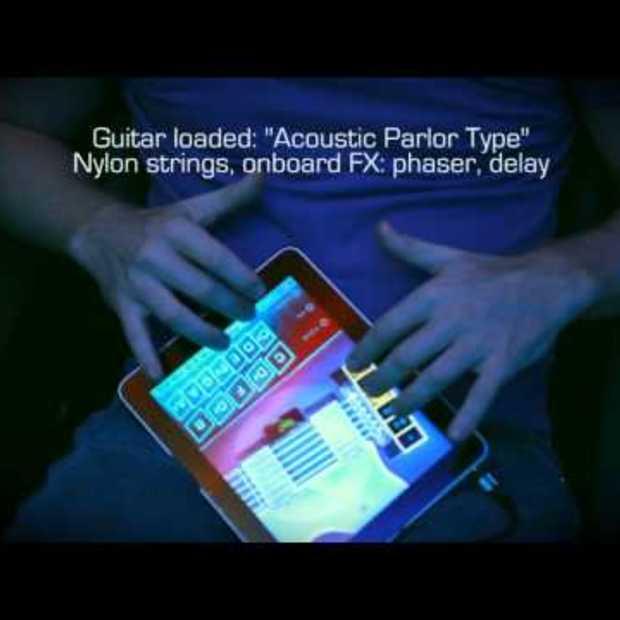 OMGuitar - the most realistic iPad guitar
