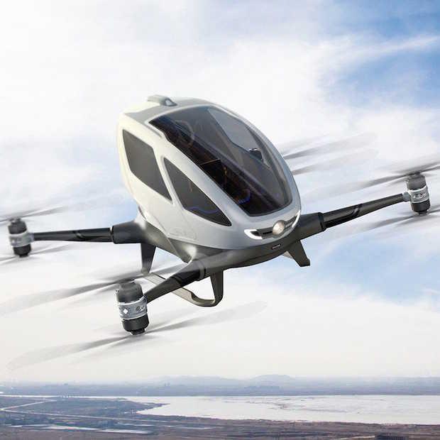In deze drone kun je zelf vliegen!