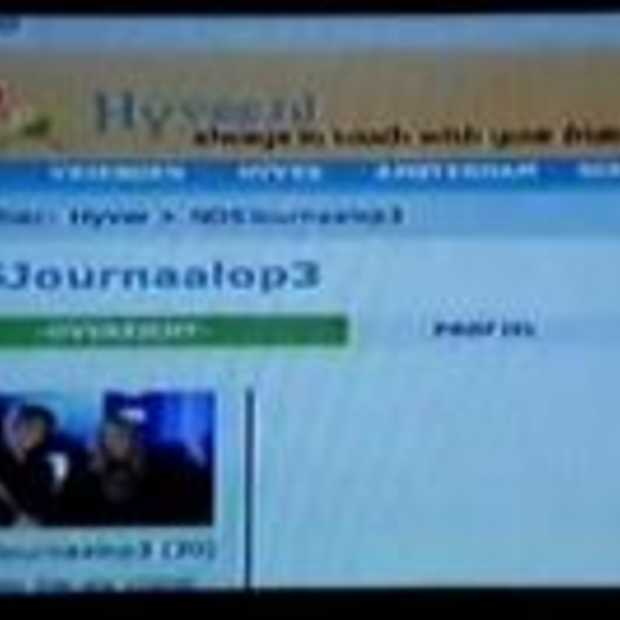 Online CrossMediaMix:Hyves met Tele2 in interactieve TV