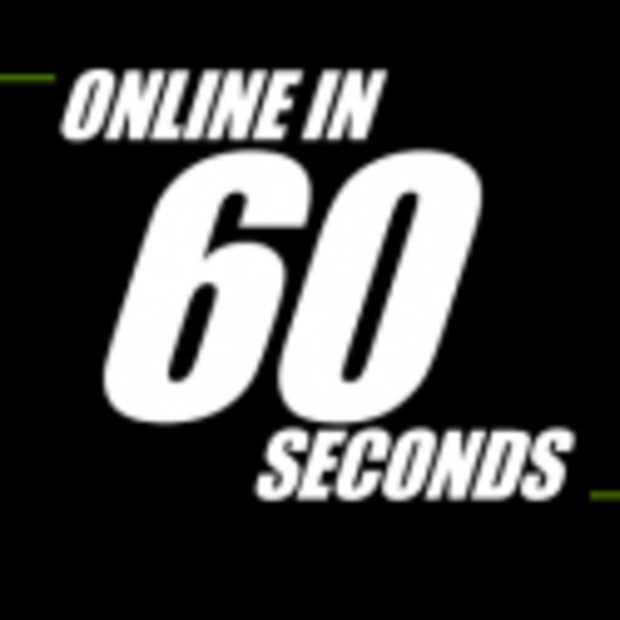 Online in 60 seconden [Infographic]