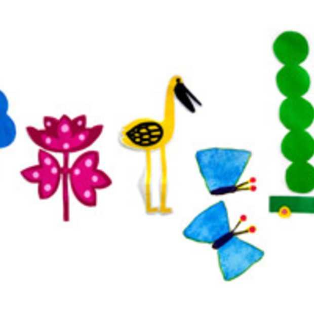 Ook Google viert de eerste Lente dag