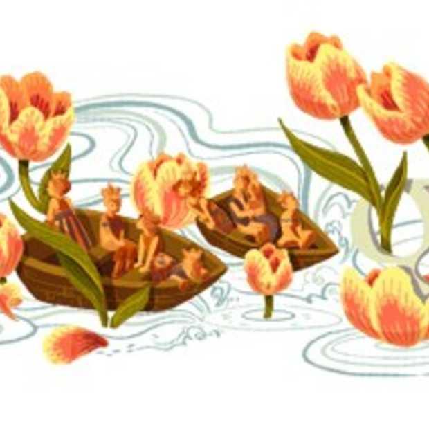 Ook Google viert Koninginnedag