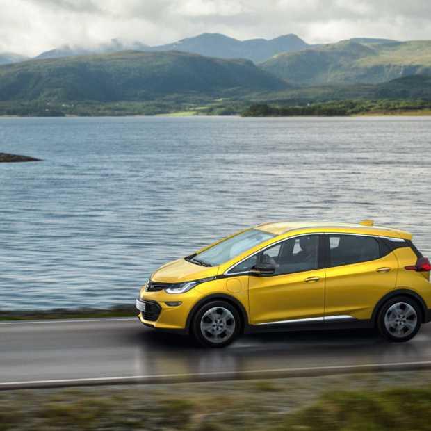 Nederland bij eerste vijf landen voor Opel Ampera-e
