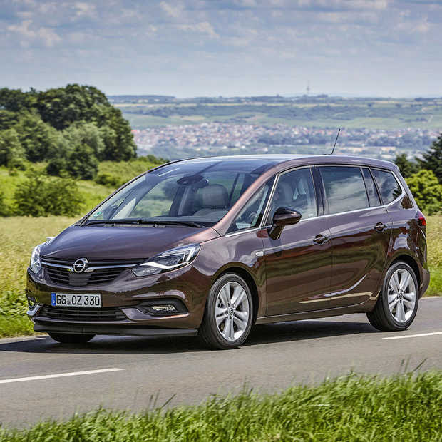 Nieuwe Opel Zafira is meer een Travelling Lounge