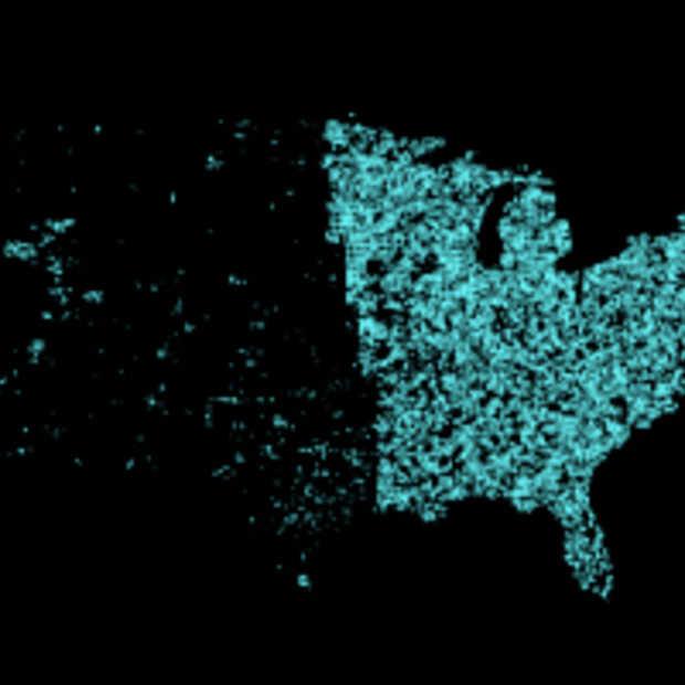 OpenStreetMap gebruikt crowdsourcing in interactieve graphics