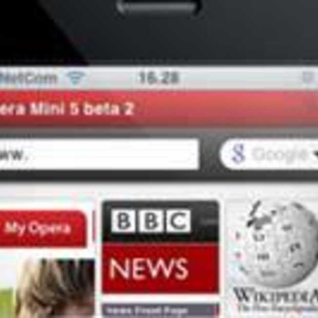Opera komt met browser voor op de iPhone