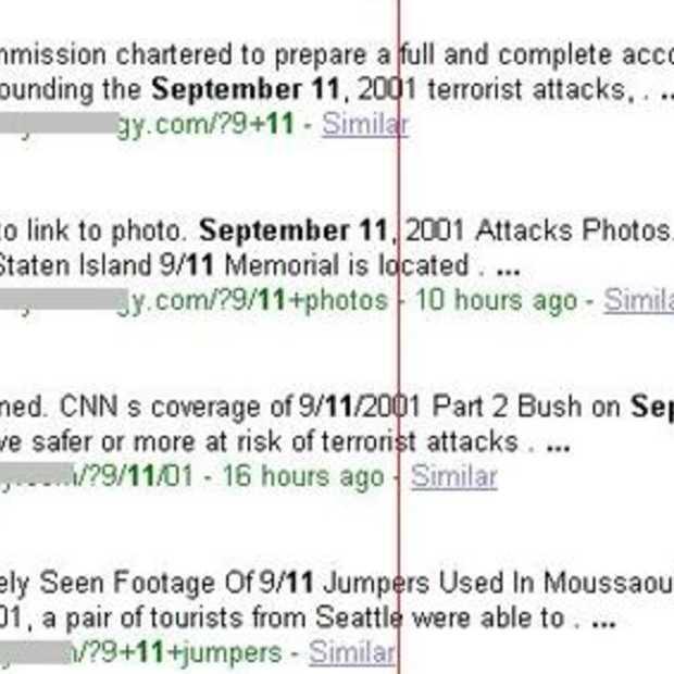 Oppassen met nieuws over 9/11