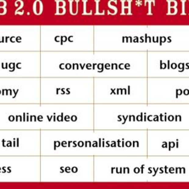 Oproep: Web2.0 Bullshit Bingo