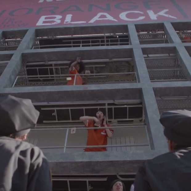 Netflix' Orange is the New Black: live stunt in Parijs