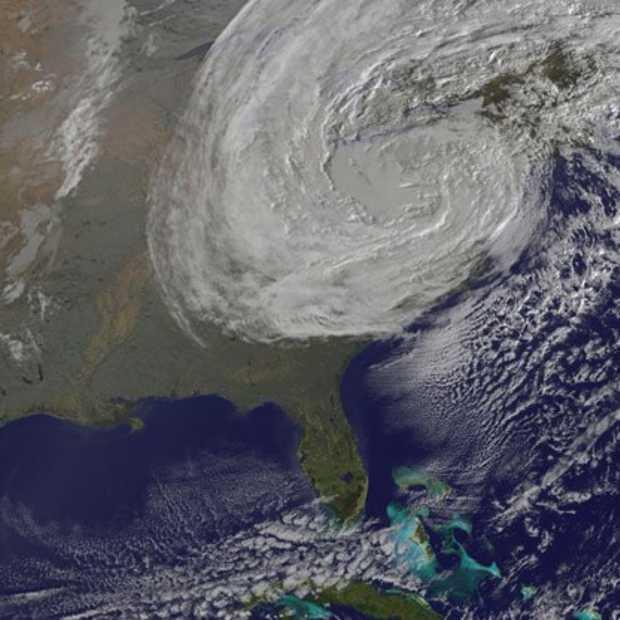 Orkaan Sandy zorgt voor bezoekersrecord Weather.com