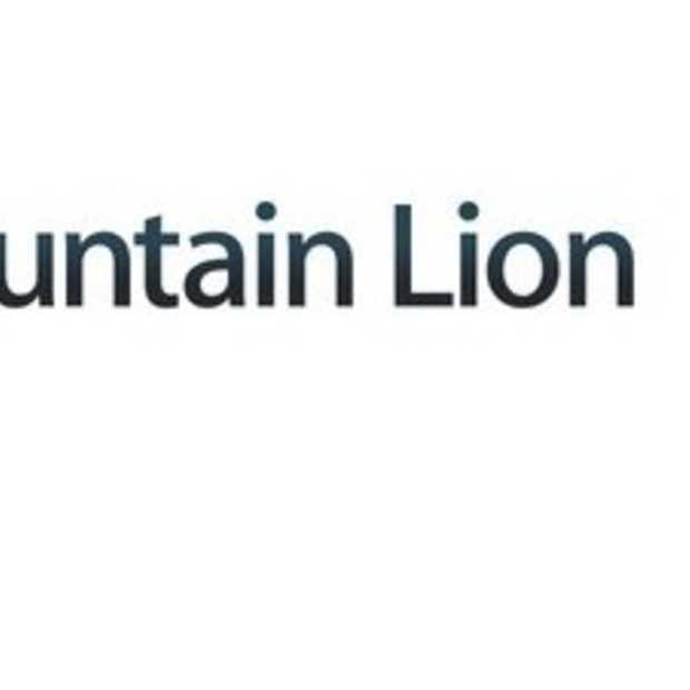 OS X Mountain Lion beschikbaar in App Store
