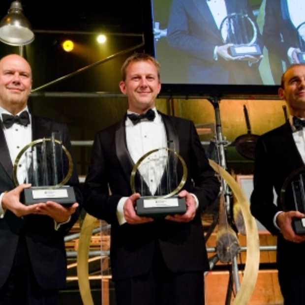 Ouwinga (UNIT4), Roelofsen (Rotra) en Van der Does (Adyen) zijn Entrepreneur Of The Year 2013 #EOYNL