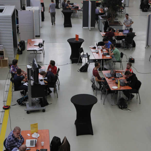 De hackers van de tweede World Port Hackathon zijn van start!