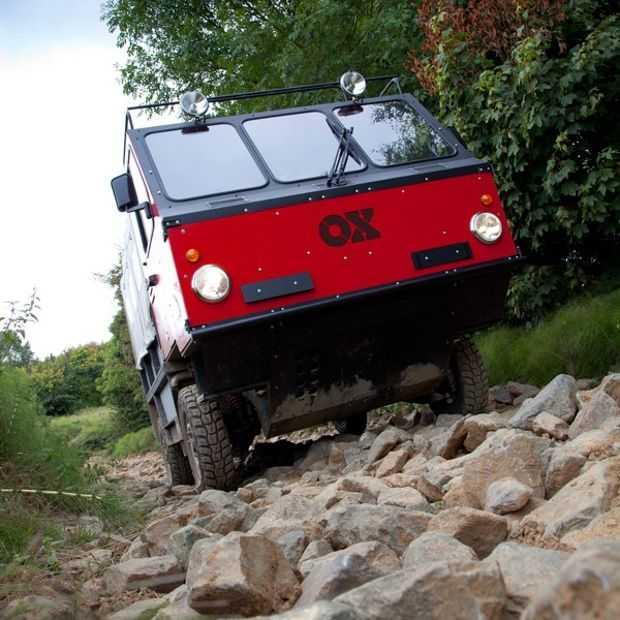 De OX is een truck die je zelf in elkaar kunt zetten