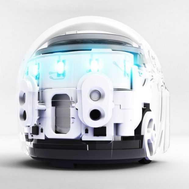 De Ozobot Evo is een kleine sociale robot